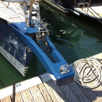 Travaux réalisés sur voilier