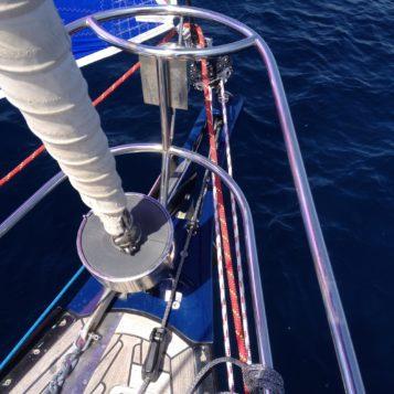 Travaux réalisés sur voilier X-YACHTS