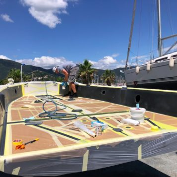 travaux rénovation voilier