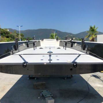 travaux rénovation voilier MC CONAGHY 38