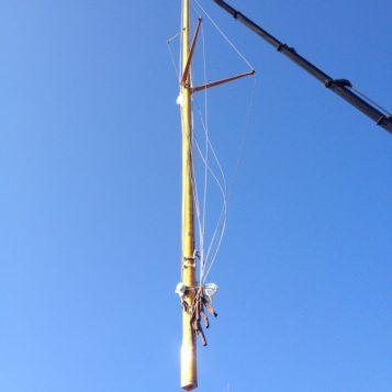 travaux mât & gréement sur voilier